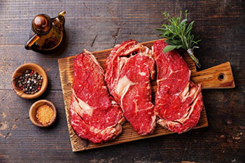 The beef is one of the healthiest meats on the planet as well, full of good fatties and proteins, the substance that builds our muscles and tissues.